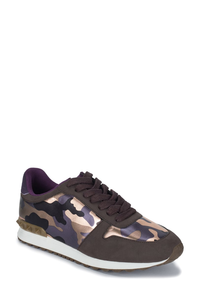 Militaire - print trainers