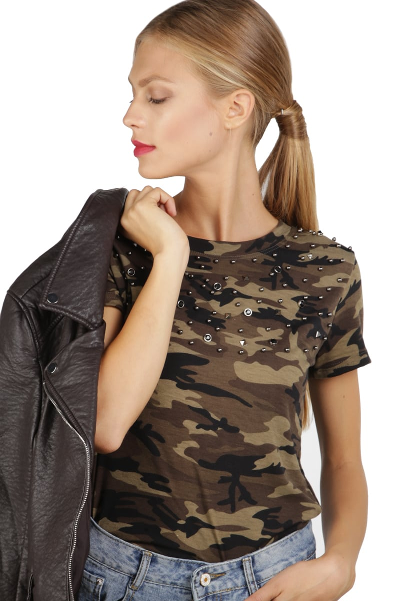 ARMY T-SHIRT ME ΤΡΟΥΚΣ