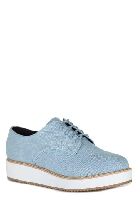 CANVAS FLATFORM OXFORDS