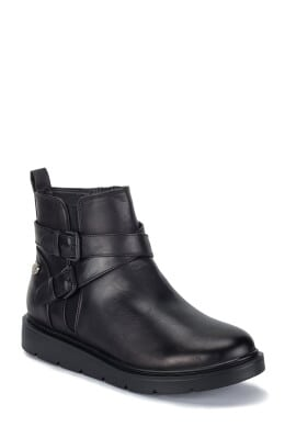 Ankle boots με διπλή αγκράφα